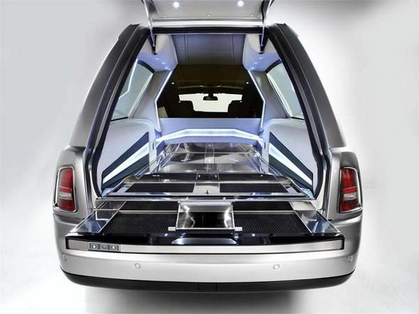 Rolls Royce Phantom Hearse B12 – самый дорогой в мире катафалк