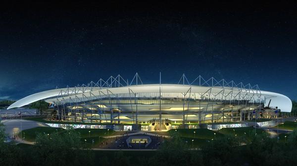 Новый стадион в Ростове-на-Дону от Populous