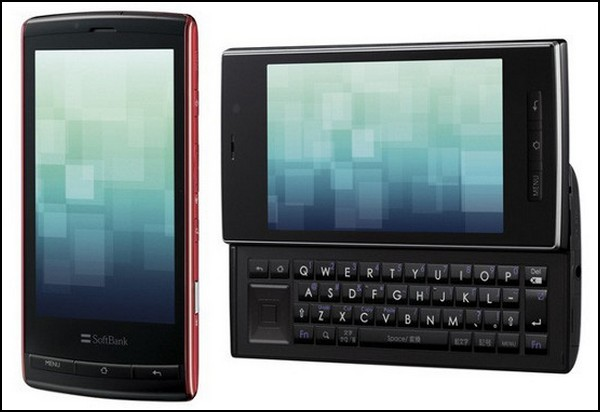 Смартфон от Sharp с 3D-экраном
