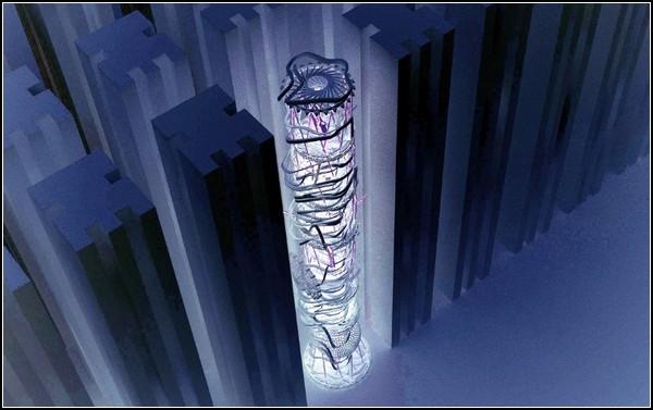 Парк аттракционов в небоскребе