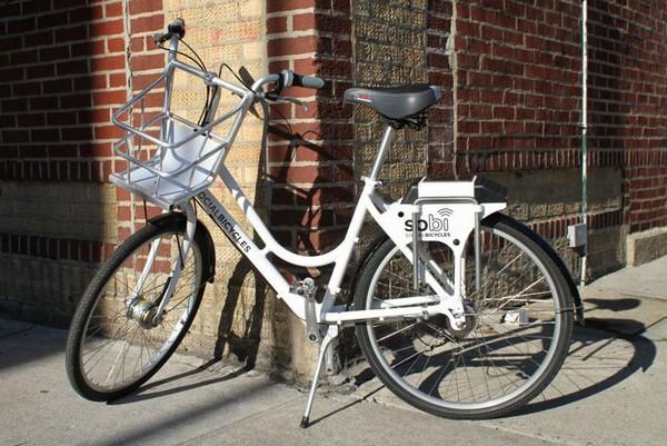 Мобильное приложение SoBi – помощь в поиске общественных велосипедов
