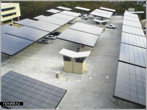 ParkSolar – солнечные парковки