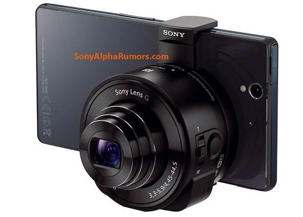 QX10 и QX100 два «взрослых» объектива от Sony на мобильный телефон
