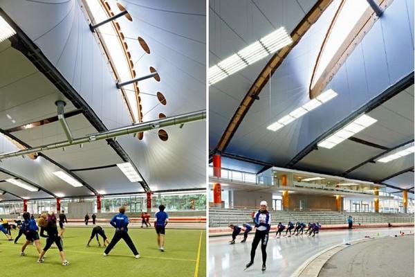 Max Aicher Arena – конькобежный стадион с «умной» крышей