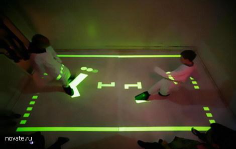 Реальный интерактивный футбол