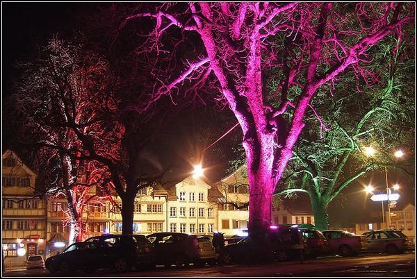 Уличное освещение при помощи наночастиц золота