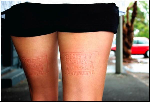 Скамейки: «Осторожно, реклама!» в Новой Зеландии