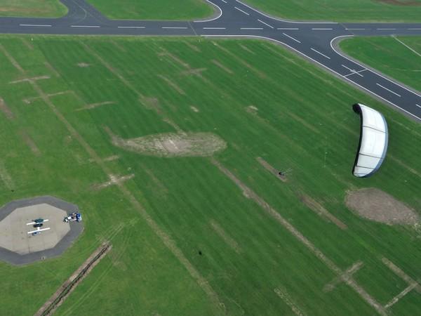 Электростанция из воздушных змеев заработала в Шотландии видео ЭкоТехника