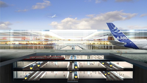 Thames Hub – лондонский мегааэропорт от Нормана Фостера