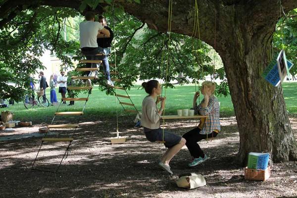 Tree Cafe – кафе на природе от Byggstudio