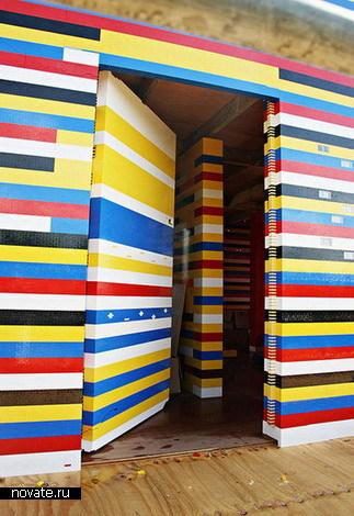 Настоящий LEGO-дом