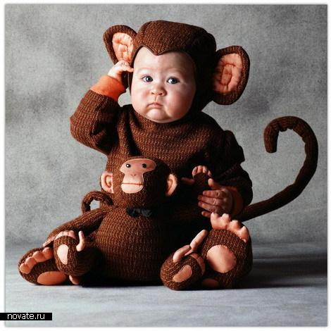Звериные костюмчики для малышей