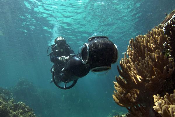 Большой Барьерный риф в проекте Sea View от Google