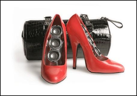 Колонки-туфли