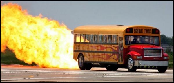 Самый быстрый школьный автобус
