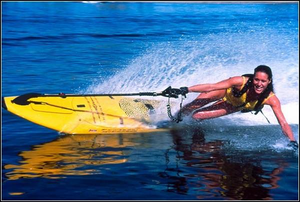 Серфинг при тихой погоде