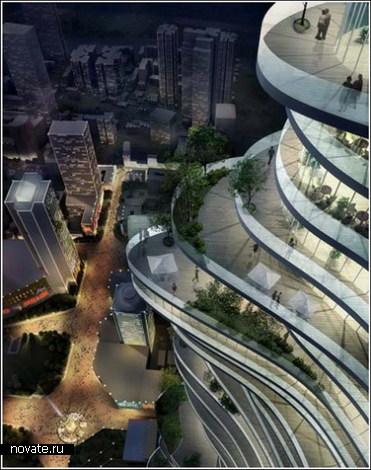 Городской лес в Китае