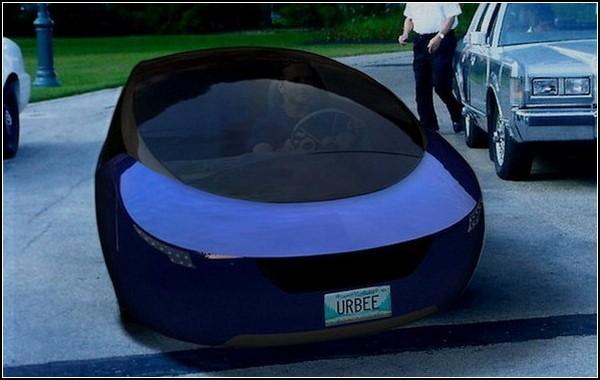 Urbee Hybrid – автомобиль, напечатанный на принтере