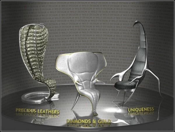 Животная мебель от Wild Design