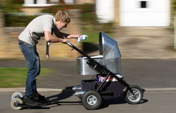 Самая быстра в мире детская коляска