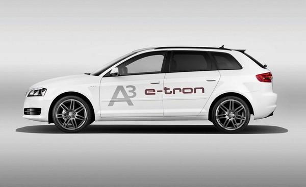 Audi A3 E-tron – электромобиль под четырьмя кольцами
