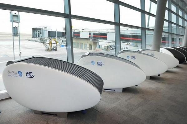 GoSleep – кресла-отели в аэропорту Абу-Даби