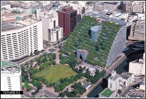 Висячие сады Семирамиды теперь в Японии