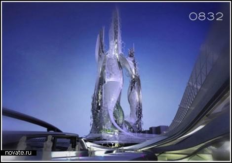 Нереальный армянский эко-небоскреб