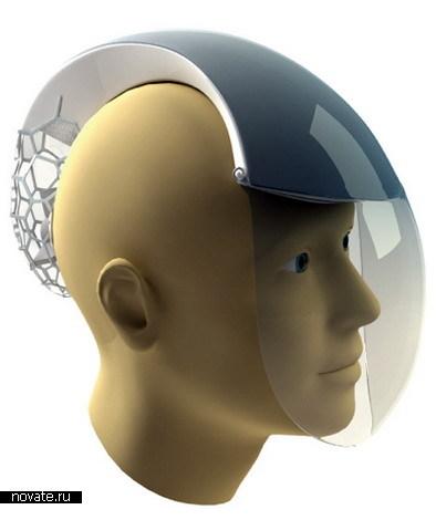 Воздух проходит через все тело шлема, очищаясь от всякой заразы, токсинов и...