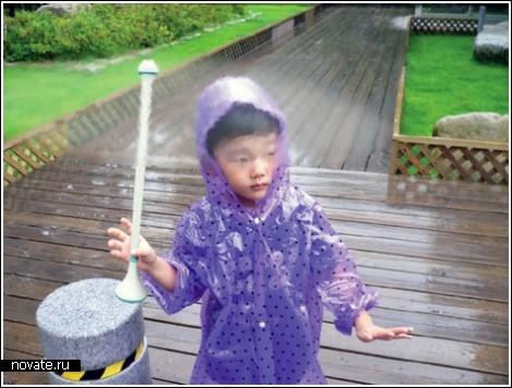 Воздушный зонтик, который не нужно сушить