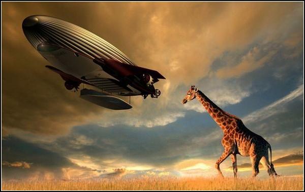 Дирижабль Archangel – помощь с небес