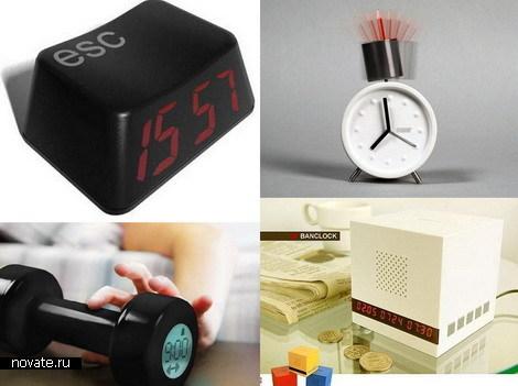 Необычный будильник