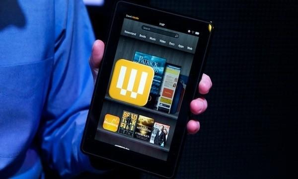 Планшет-читалка Kindle Fire
