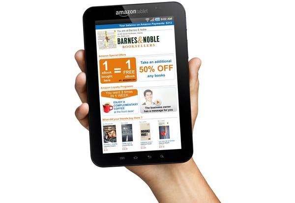 Kindle Tablet – планшет-читалка от Amazon