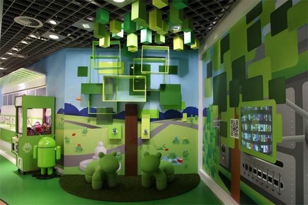 Androidland – фирменный магазин от Google