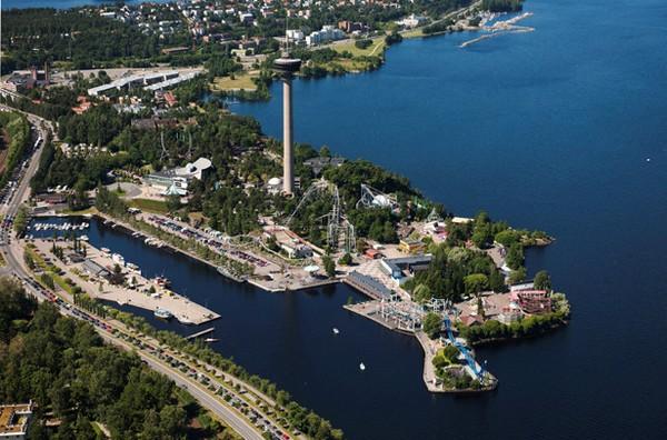 В Финляндии открылся парк Angry Birds.