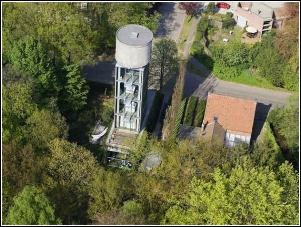 Woning Moereels - из старой башни в новый дом
