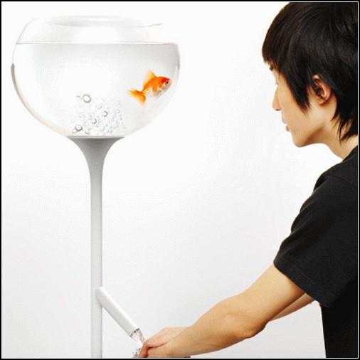 Умывальник Poor Little Fish Basin: как научиться экономить воду?