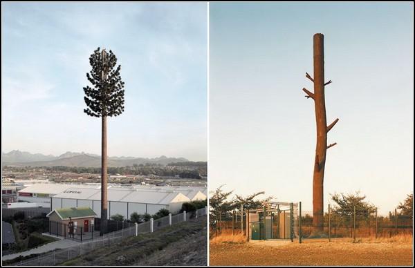 Фальшивые деревья для мобильной связи