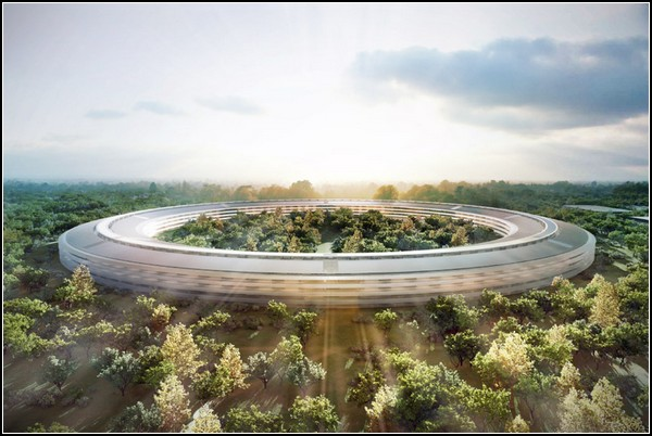 Новая штаб-квартира Apple от Нормана Фостера