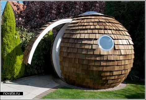 Archipod – офис в саду