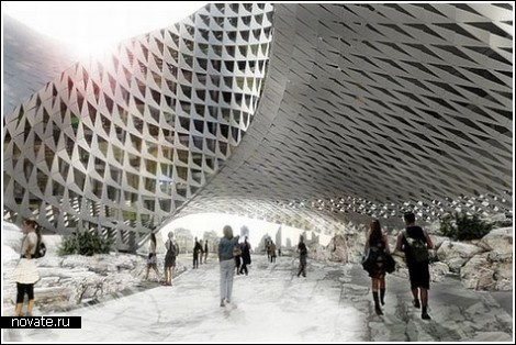 Эко-библиотека для Казахстана