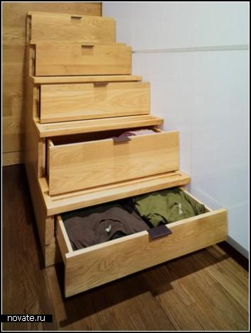Просторная квартира-студия минимальных размеров