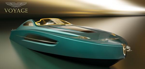 Яхта в стиле Aston Martin