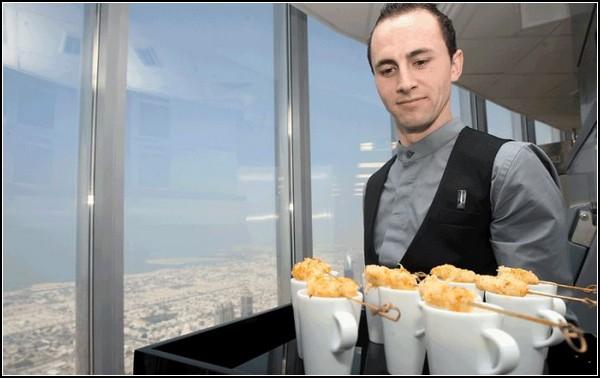 At.mosphere: самый высотный ресторан в мире