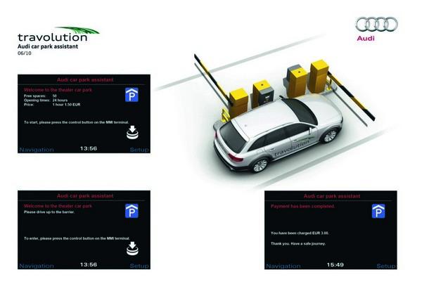 Технология simTD: AUDI научит машины общаться со светофорами