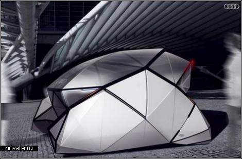 Интерактивный автомобиль для отдаленного пешеходного будущего