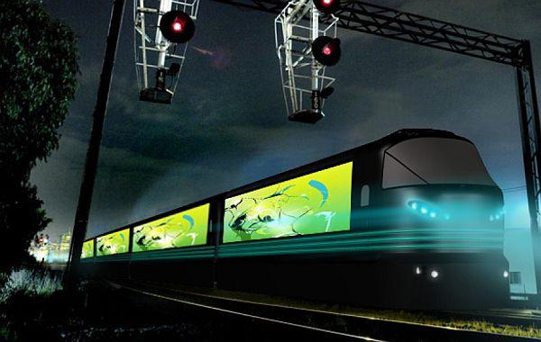 Aurora – информативный поезд будущего