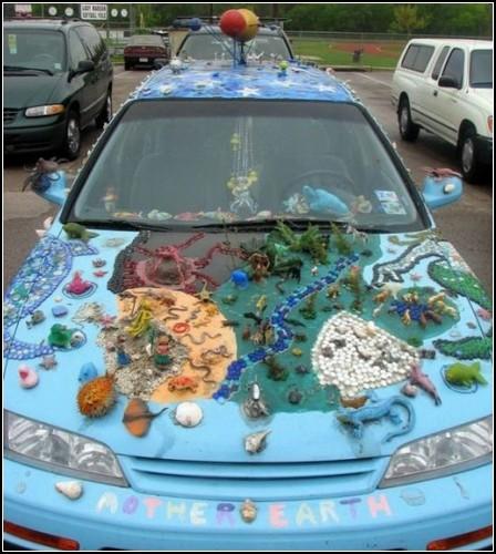 Автомобиль для инфантильных людей