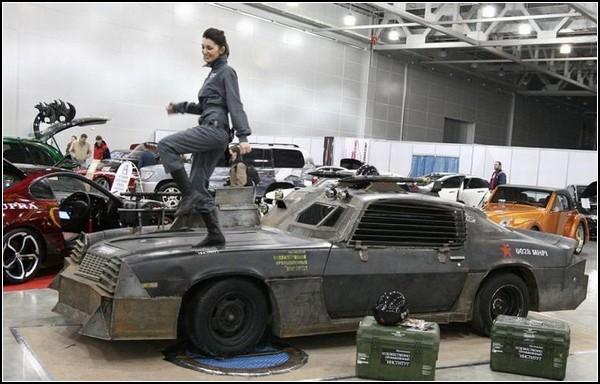Бронированный Chevrolet Camaro